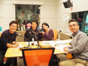 伊藤史隆のラジオノオト!番組直前の様子(ABCラジオ局にて)